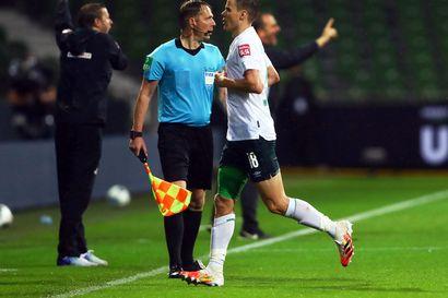 Moisanderin Werder Bremen sai säilytettyä sarjapaikkansa Bundesliigassa