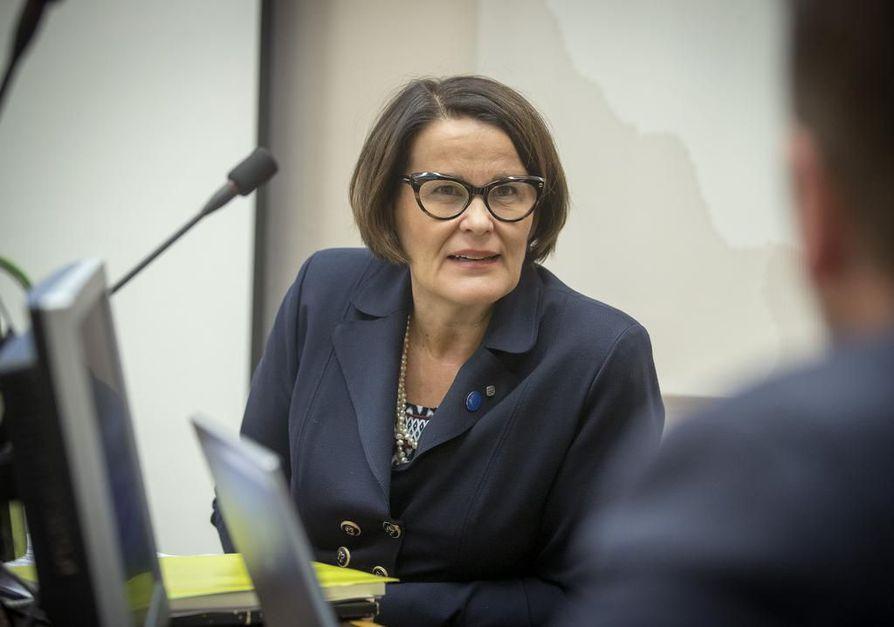 Oulun kaupunginjohtaja Päivi Laajala julkaisi budjettiesityksensä ensi vuodelle.