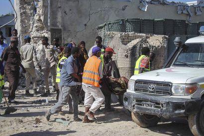 Terrori-isku Somalian pääkaupungissa Mogadishussa – ainakin 15 kuoli