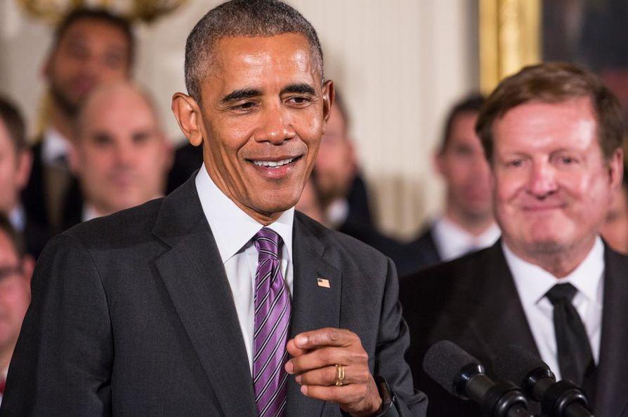 Yhdysvaltain istuva presidentti Barack Obama soitti seuraajalleen Donald Trumpille.
