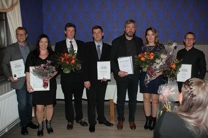 Raahen seutukunnan vuoden yrittäjät on palkittu