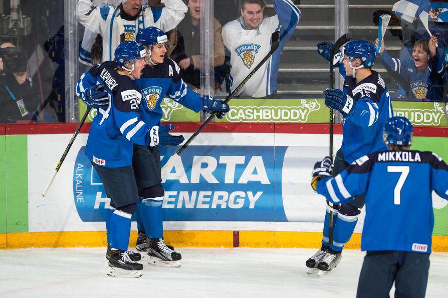 Suomi Tsekki Jääkiekko
