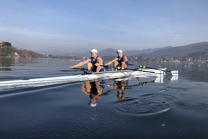 EM-kilpailut aloittaa Naukkarisen ja Karppisen tärkeän soutukauden, tähtäimessä olympiakarsinnat