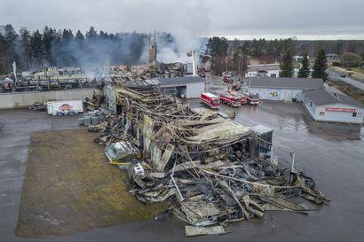 Oulun alueella kymmeniä hankalasti sammutettavia tuotanto- ja varastorakennuksia - riskikohteita etenkin kemikaalitehtaat
