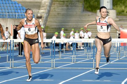 Suomi on Euroopan rankingykkönen naisten 100 metrin aitajuoksussa!