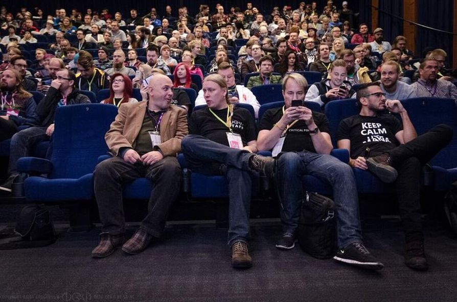 Pelialan ammattilaiset kokoontuvat Kajaaniin lokakuussa. Arkistokuva.