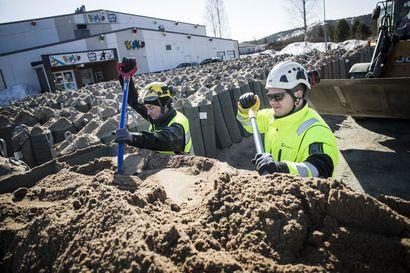 Suurtulva uhkaa jopa Eteläkeskuksessa – nyt on korkea aika selvittää oman kiinteistön tulvariski Rovaniemellä