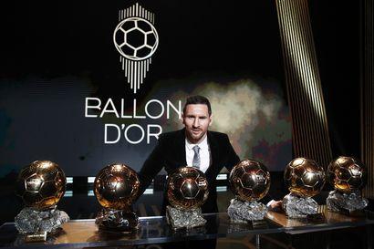 Lionel Messi voitti Kultaisen pallon kuudennen kerran