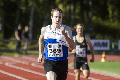 """Oulun Pyrinnön Samuel Purola urakoi kelpo debyytin maitohapontäyteisellä 400 metrillä: """"Vielä en ole nelkulle vaihtamassa"""""""