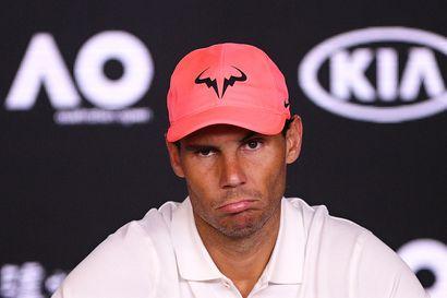 Rafael Nadal povaa pitkää odotusta huipputennikselle