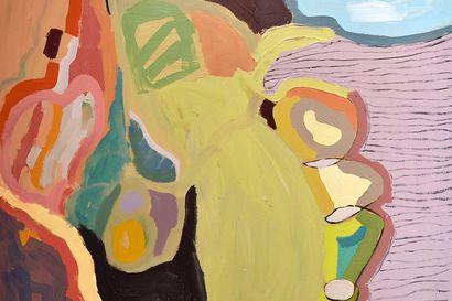 Arvio: Isä maalaa kankaalle myyttejä, tytär lapsiperheen arkea vailla kiiltokuvan tuntua