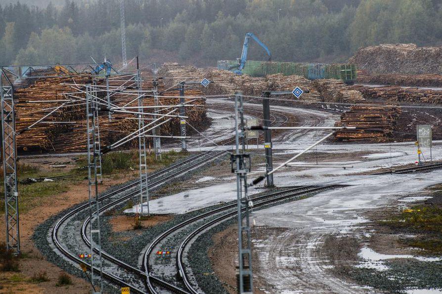 Viime talvena metsätalouden yrityksillä jäi puuta kuljettamatta, koska VR:ltä ei löytynyt tarpeeksi vaunuja.