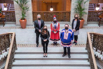 Saamelaiskäräjät tapasi pääministeri Marinin – Tapaamisessa keskusteltiin muun muassa saamelaiskäräjälain uudistamisesta