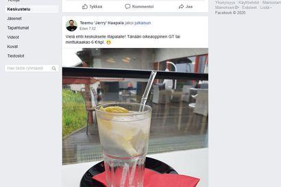 Miksi Limingan kunnan elinkeinopäällikkö ja Hotelli-Ravintola Liminganlahden toimitusjohtaja mainosti viinaa Facebookissa?