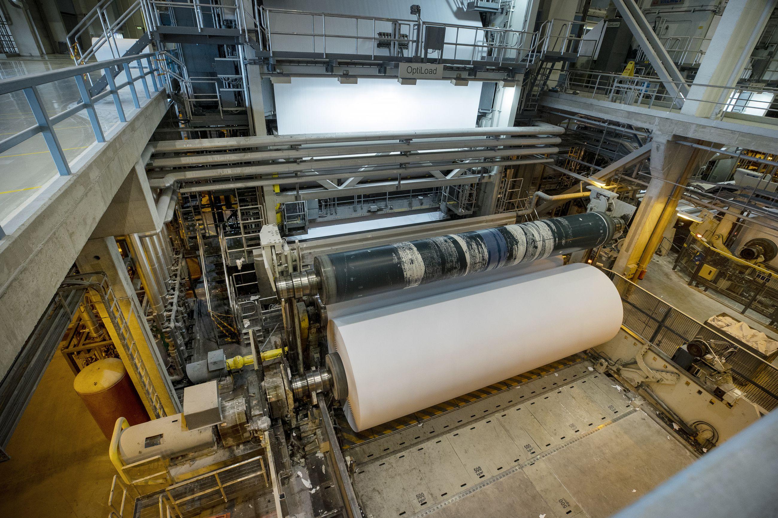 Stora Enson tehdasalueella on ollut iso tartuntojen ryväs. Kuvituskuva arkistosta.