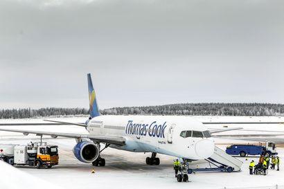 Matkanjärjestäjän konkurssi vei Lapin lentoasemilta yli 16000 matkustajaa, venäläisten loma- ja ostosmatkailu piristyi hieman