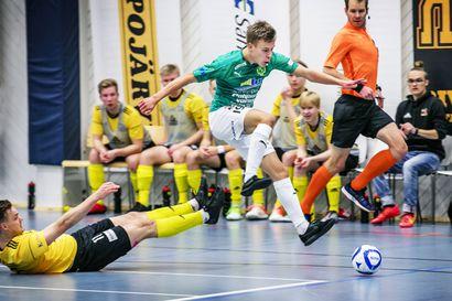 Futsal-liigan joulukuun pelaajaksi valittu ToPV:n Iiro Vanha on kunnostautunut maalisyötöissä