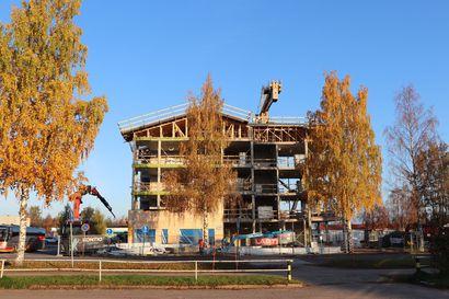 ARAlta 114 000 euron avustus Pudasjärven Vuokratalojen hirsikerrostaloille