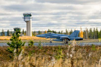 Ruska 20 -harjoituksessa yli 60 lentokonetta ja 4800 sotilasta – tukikohtana myös Rovaniemen lentokenttä