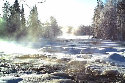 Hyydetulvista varoitetaan Taivalkosken ja Pudasjärven alueilla – koko Iijoki on hyyteen tukkima