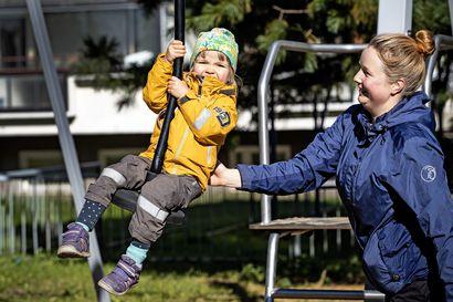 Veronmaksajien rahoilla leikkipuistot kuntoon –Kummattiin avattiin uudistunut liikuttava leikkipuisto