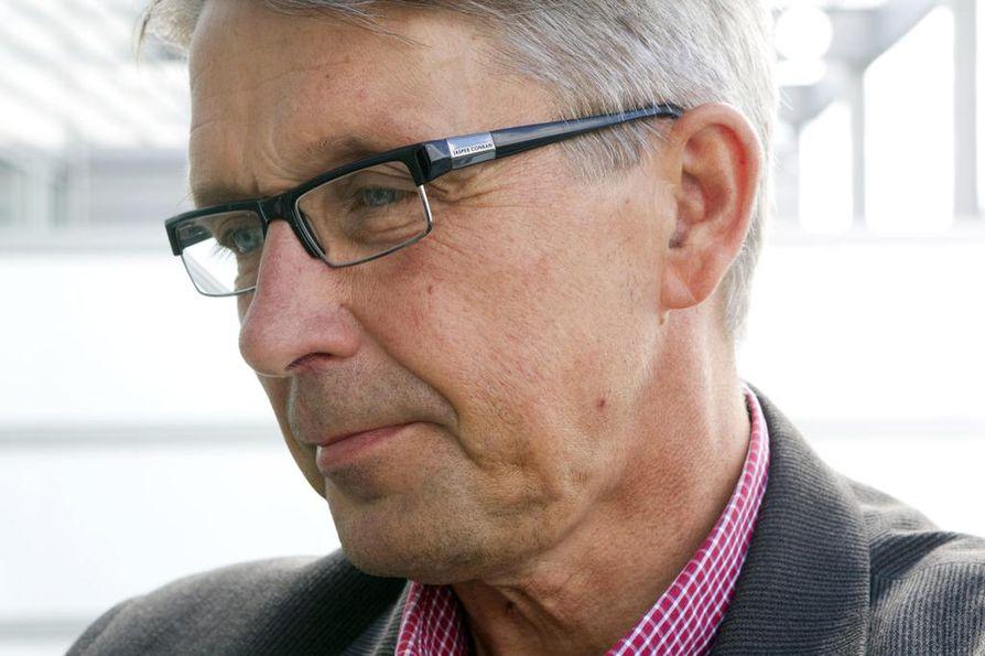 Tuomas Hänninen jäi sairauslomalle vajaa viikko johtokunnan kokouksen jälkeen.
