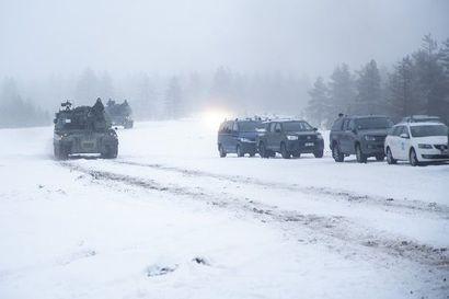 Maavoimien harjoitus Rovajärvellä päättyy perjantaina – paluumarssijat liikkuvat pohjoisesta etelään jo torstaista alkaen, harjoituksessa sattui pieniä liikenneonnettomuuksia