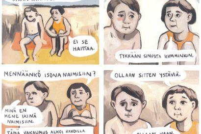 Arvio: Rakkautta ja ihmissuhdekiemuroita kevään kotimaisissa sarjakuvauutuuksissa