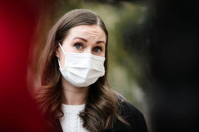 Pääministeri Marinin mukaan maskikohu on nyt loppuun käsitelty – kertoo jo saaneensa Tervahaudan vastauksen selvitykseen, jota pyysi aamulla