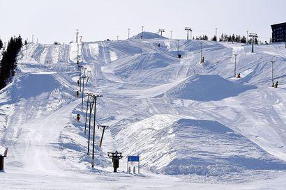 Levillä säilölumen jättioperaatio - lunta jemmataan peräti 150000 kuutiota