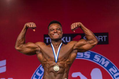 Kuusamo sai uuden MM-mitalistin – Benard Antwi saavutti fitnessin maailmanmestaruushopeaa Espanjassa