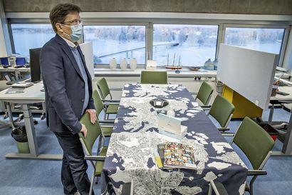 Oulun pääkirjaston historian ensimmäisestä suuresta remontista tulee valtava rypistys: Viiden vuoden projektin päätteeksi rakennuksen ylin kerros avataan kaupunkilaisille