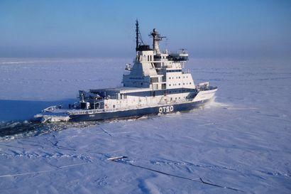"""Jäänmurtajista vasta Otso on Perämerellä töissä: """"Kylmempi pakkasjakso on suurella todennäköisyydellä tulossa"""""""