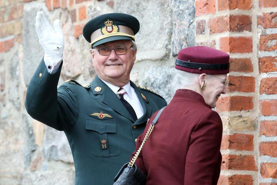 Prinssi Henrik ei enää ihan viime vuosina ollut mukana edustustehtävissä. Hän ei ollut Margareetta II:n mukana viime vuonna, kun Pohjoismaiden johtajat kävivät Suomessa juhlistamassa Suomen 100-vuotisjuhlaa. Arkistokuva.