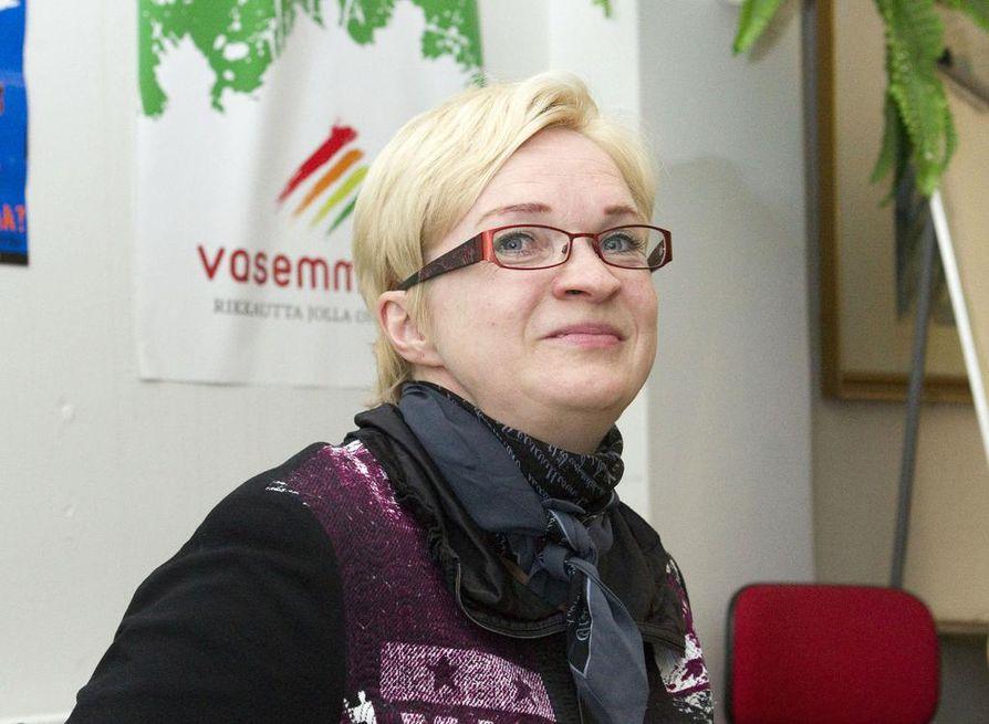 Myös Anne Huotari on ehdolla kuntavaaleissa.
