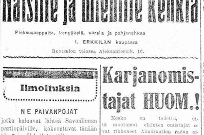 Vanha Kaleva: Onko saksalaisilla metsänostoaikeita Suomessa?