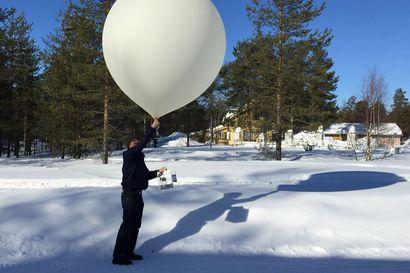 Sodankylän yllä on ensimmäistä kertaa samanlainen otsonikato kuin Etelämantereella – ultraviolettisäteily on viikonlopun aikana tavanomaista voimakkaampaa