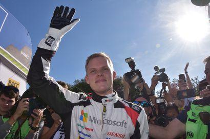 Rallin maailmanmestari Tänak vahvisti tallinvaihdon – siirtyy Mäkisen Toyotalta Hyundaille