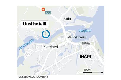 Inarin luksushotellin rahoitus varmistuu, tontti löytyy Juutuanjoen varrelta