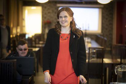 """Mari-Leena Talvitie aavisti putoavansa varapuheenjohtajakisassa – """"Ainakaan vielä kokoomuksen johtoon ei mahdu kahta ihmistä pohjoisesta"""""""