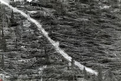 Mauri oli vuosisadan pahin myrsky, joka iski Lappiin odottamatta