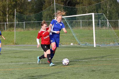 FC Raahen naisille voitto kotikentällä