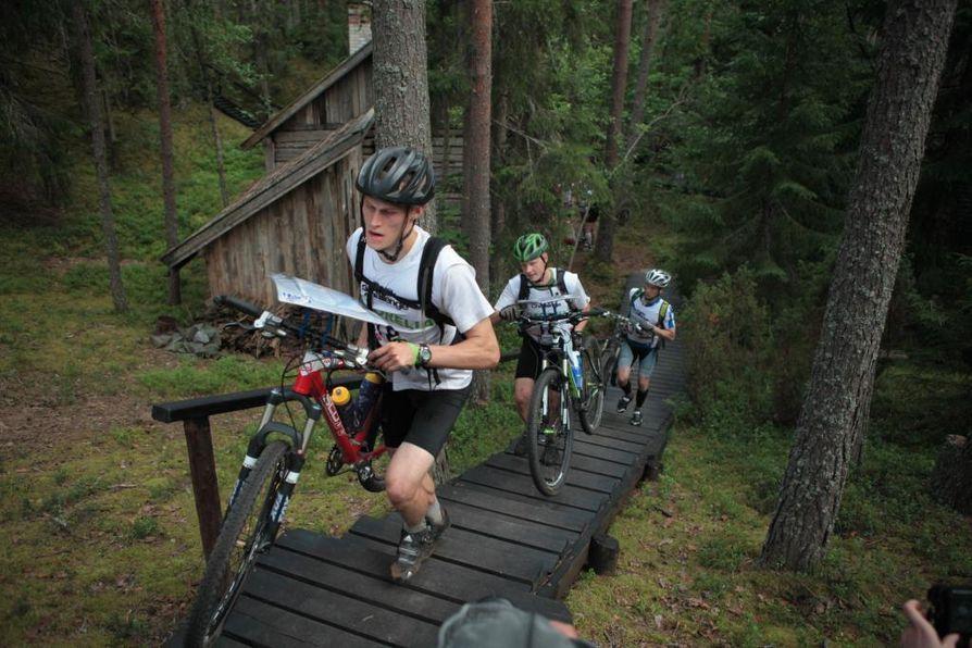 Vuorokauden mittainen Geopark Challenge kisattiin viime vuonna Muhoksella ja Utajärvellä.
