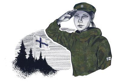 Armeija tekee pojista miehiä ja tytöistä naisia, mutta onko tasa-arvo tavoiteltava asia maanpuolustuksesta puhuttaessa?