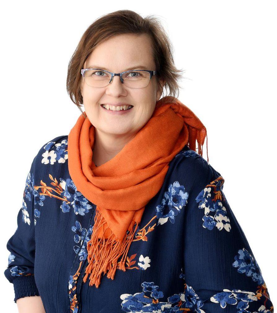 """Marjo Tapaninen sanoo, että ehdokkuus on """"uutta ja jännää""""."""