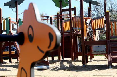 Oulussa remontoidaan kesällä leikkipuistoja ja rakennetaan koira-aitaus