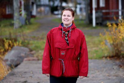 Tullaan tutuiksi: Ida Tiittanen on kahdessa lippukunnassa toimiva partioaktiivi ja kerho-ohjaaja