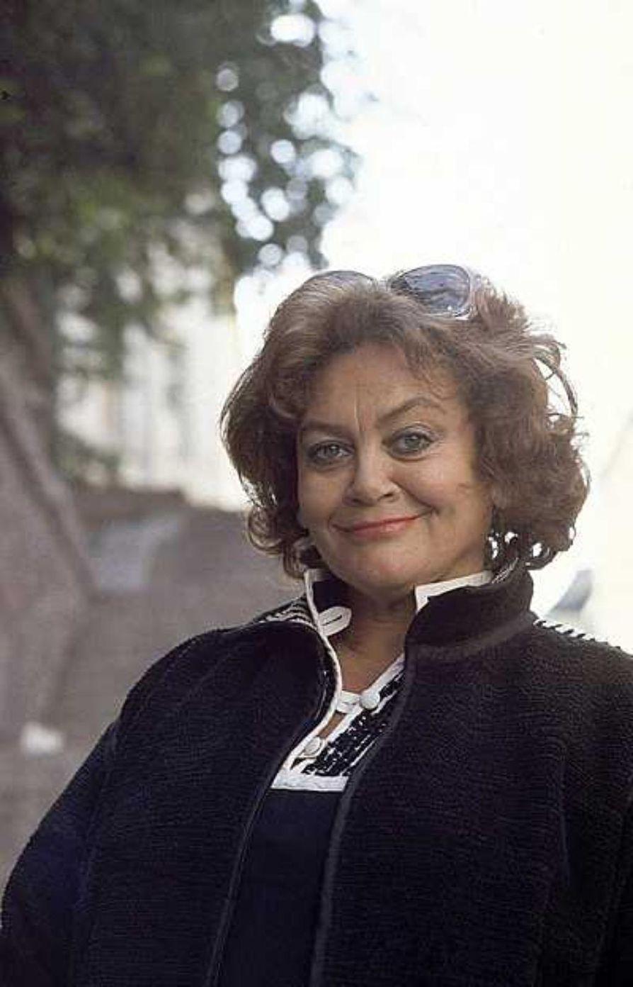 Näyttelijä Marita Nordberg on kuollut.