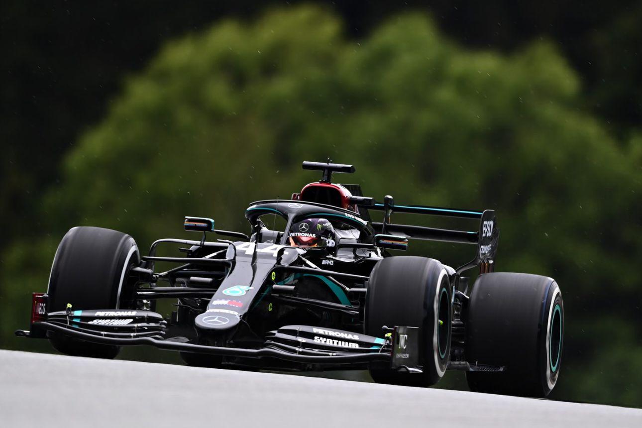 Hamilton ja Bottas ovat parhaassa vauhdissa – ripeimmätkin vastustajat jäivät Spielbergin harjoituksissa yli puolen sekunnin päähän
