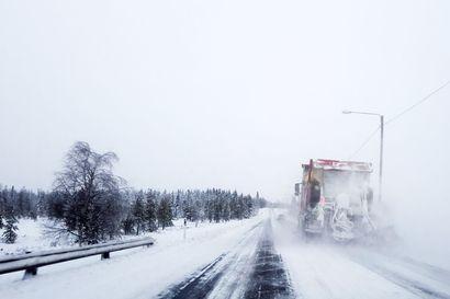 Parviainen kysyy ministeriltä Kuusamon valtateiden asemasta – LVM vakuuttaa, ettei talvihoidosta tingitä